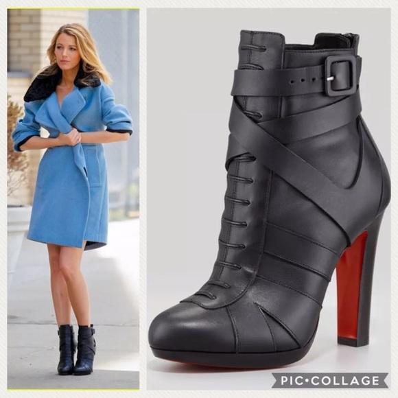 3ebda36317f 35.5/US 5-5.5 Lamu 120 Leather Ankle Boot Booties NWT